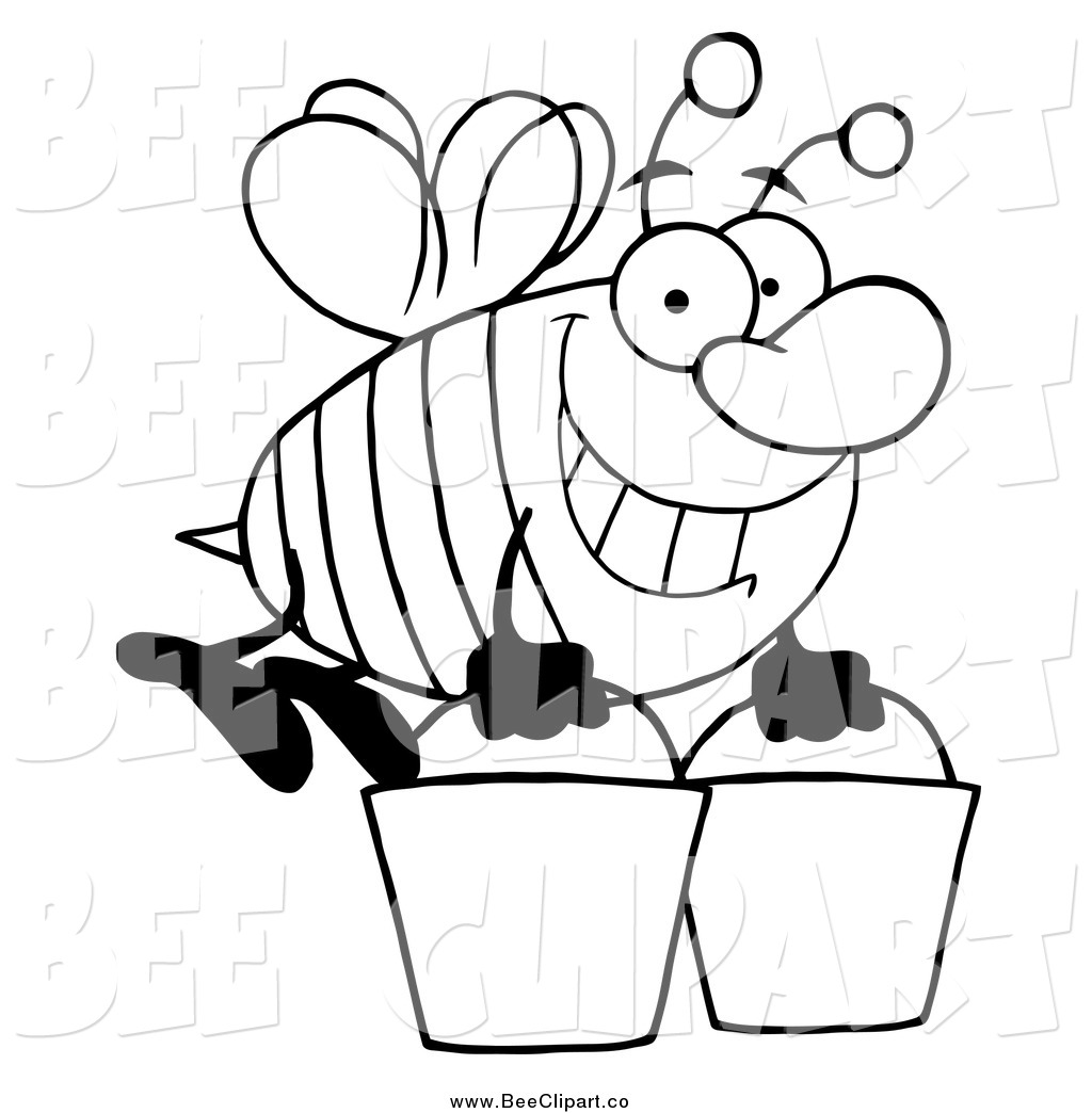 Bear And Beehive Coloring Page Coloring Pages