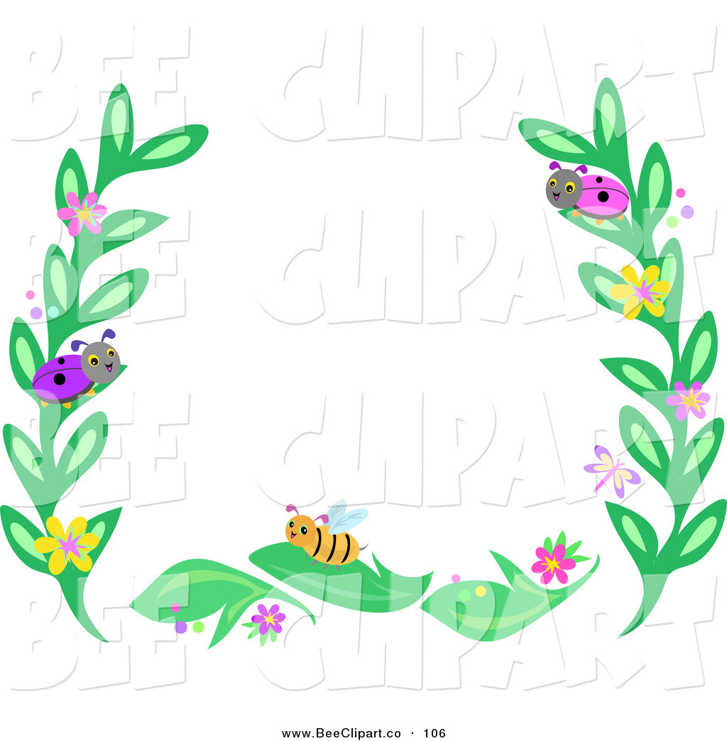 royalty free stock bee designs of frames