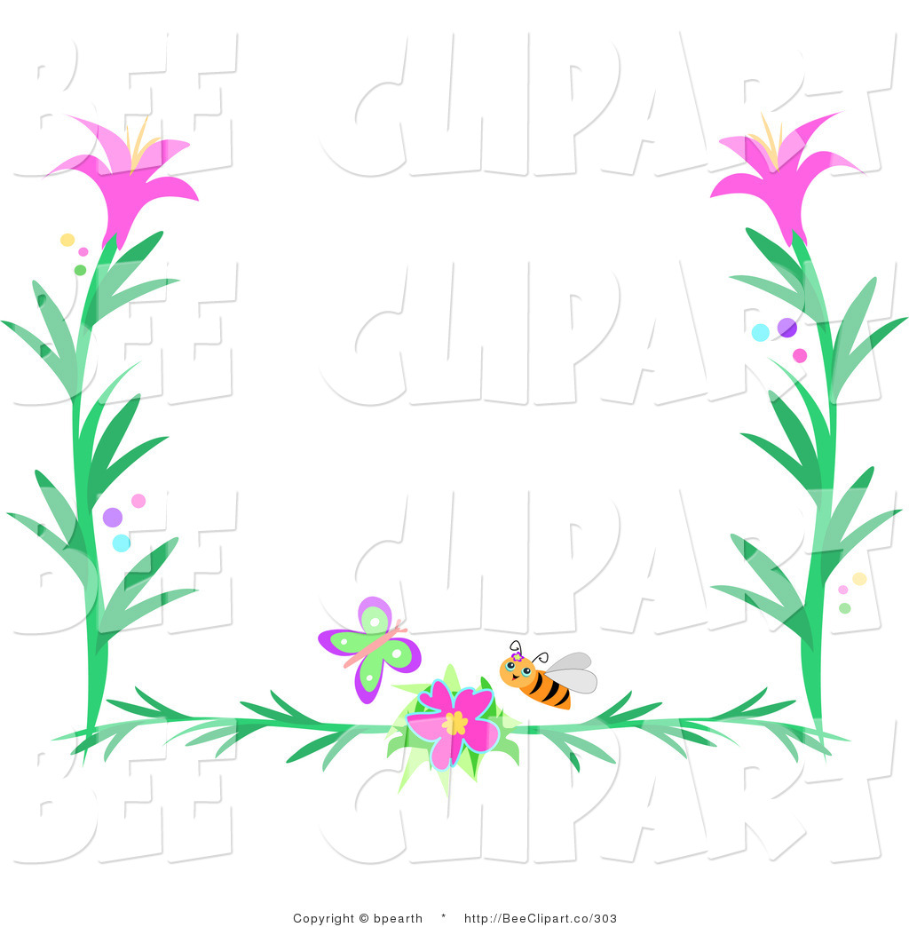 royalty free border stock bee designs