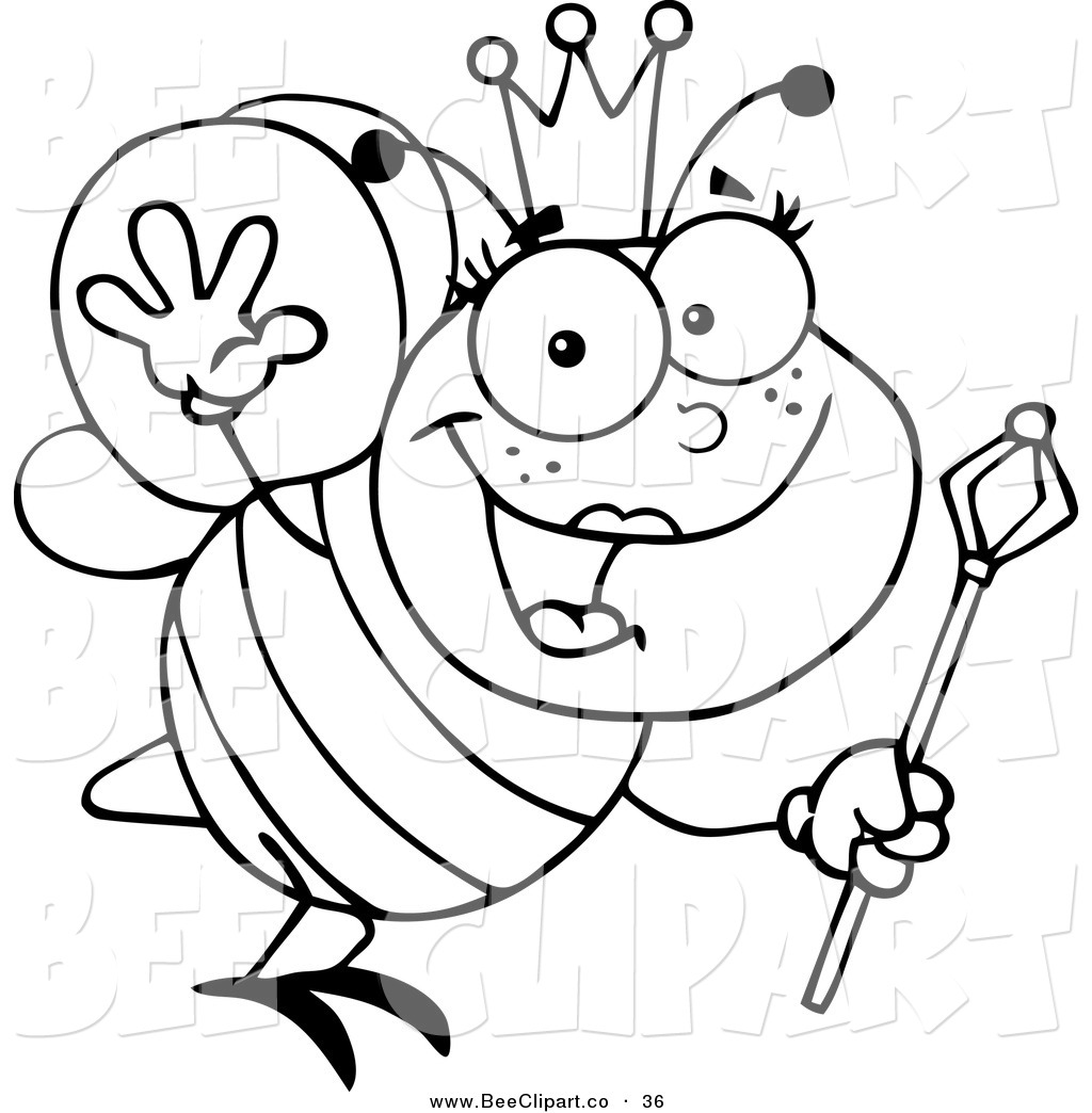 queen bee coloring page queen bee coloring pages